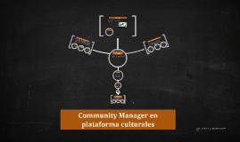 Community Manager en plataformas culturales