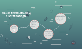 SIGNOS DE EXCLAMACIÓN E INTERROGACIÓN