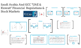 "SAUDI ARABIA AND GCC ""UAE AND KUWAIT"" FINANCIAL  REGULATORS"