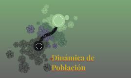 Dinámica de Población