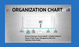 Pure Project Organization Chart