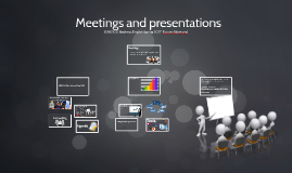 1 March Meetings and presentations