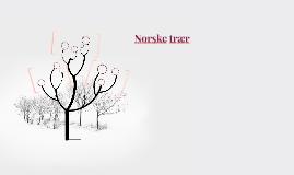 Norske trær