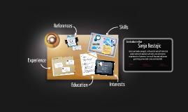 Desktop Prezumé by sanja BasBal