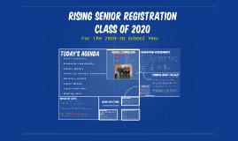 Rising 12th Grade Registration Presentation-Class of 2020