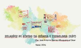 Relações de Gênero em Ciência e Tecnologia