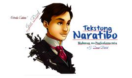 Tekstong Naratibo