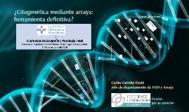 ArrayCGH: el array genómico en el diagnóstico prenatal