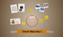 Copy of Oscar Wao Day 1