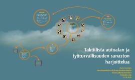 Copy of Taktiilista autoalan ja työturvallisuuden sanaston harjoi