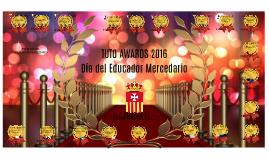 TUTO AWARDS 2016