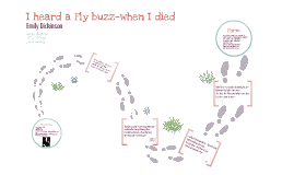 "i heard a fly buzz A summary of ""i heard a fly buzz—when i died—"" in emily dickinson's dickinson's poetry learn exactly what happened in this chapter, scene, or section of dickinson's poetry and what it."