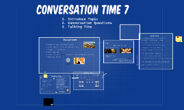 8 Fall Conversation Time