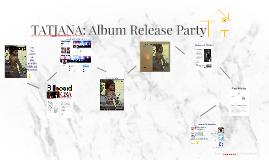 TATJANA: Album Release Party