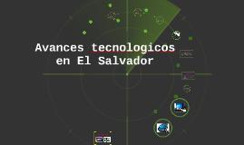 Copy of Avances tecnologicos