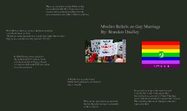 Muslim Beliefs on Gay Marriage