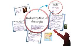 Colonization of Georgia