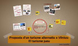 Proposta d'un turisme alternatiu a Vilnius