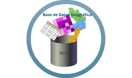 Base de Datos Geográficos