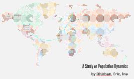 A Study on Population Dynamics