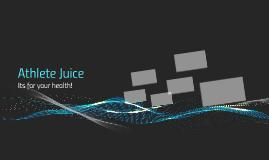 Athlete Juice