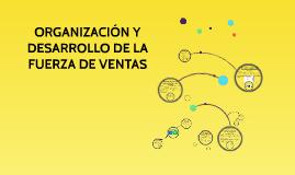 Copy of ORGANIZACIÓN Y DESARROLLO DE LA FUERZA DE VENTAS