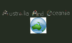 australia, and oceania