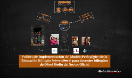 Copia de Ventajas de la Educación Bilingüe Intercultural