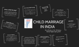 Copy of Child Marriage in India