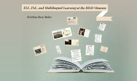 ELL, ESL, and Multilingual Learning