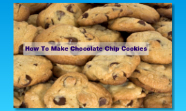 How To Make cookies