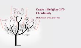 Religion CPT- Christianity