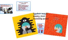 Spoken word - mundtlig poesi