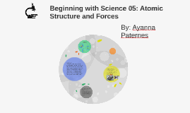 Beginning with Science 05: Atomic Structure and Forces