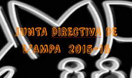 JUNTA DIRECTIVA DE L'AMPA 2015-16