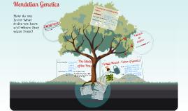 Chapter 9 Part 1: Mendelian Genetics