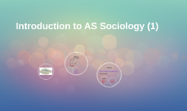 Introduction to AS Sociology