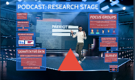 PODCAST: RESEARCH STAGE