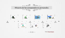 Historia de las computadoras personales
