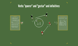 """Verbs """"querer"""" and """"gustar"""" and infinitives"""