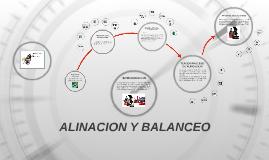 ALINACION Y BALANCEO