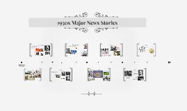 1950s Major News Stories