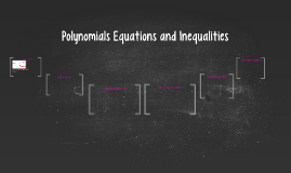 Polynomials Equations and Inequaltities C