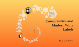 Conservatie and Modern Wine Labels