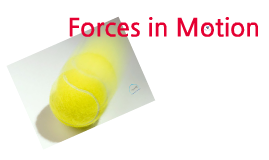Forces in motion object for Mr.Lattanzio(Yu Chen)