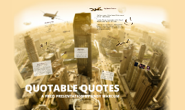 QUOTABLE QUOTES - AG
