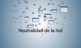 netralidad de red