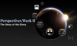 2016 Perspectives: week II