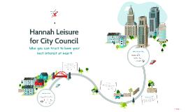 City Council Campaign