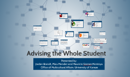 Advising the whole student - Summit on Access, Persistence & Completion